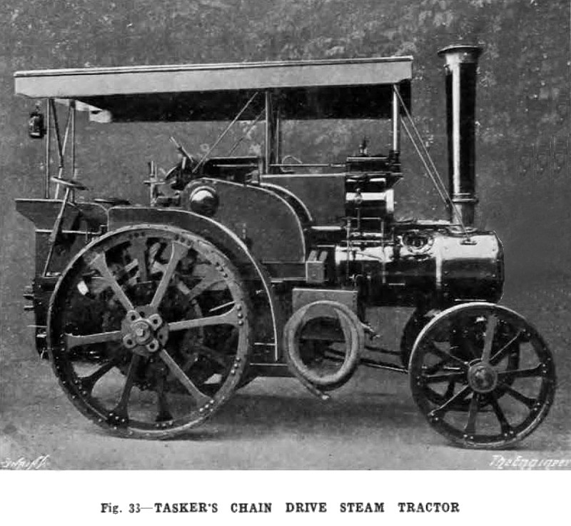 Tractor Chain Drive : W tasker sons article chain
