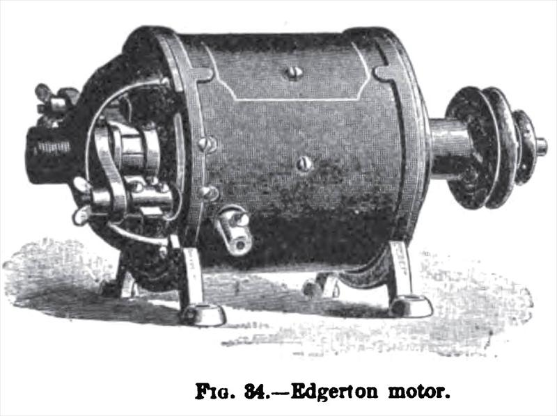 edgerton electric motor co history