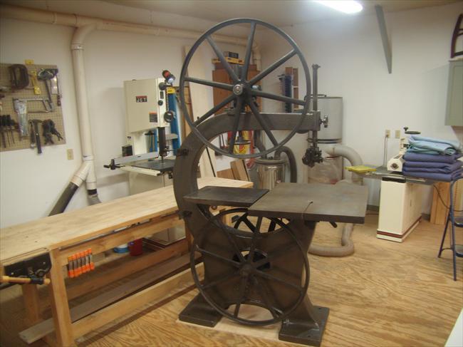 "Photo Index - Crescent Machine Co. - 36"" Bandsaw ..."