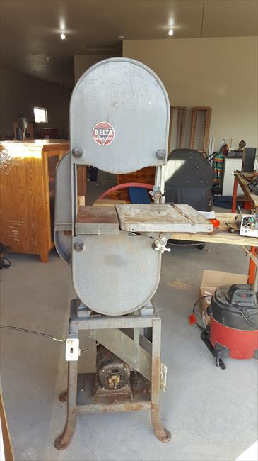 Photo Index Delta Manufacturing Co Band Saw 14