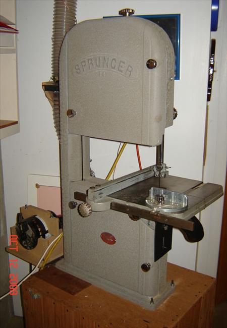 Sprunger Brothers, Inc. Serial Number Registry - Band Saw-14in No. _46159 |  VintageMachinery.org