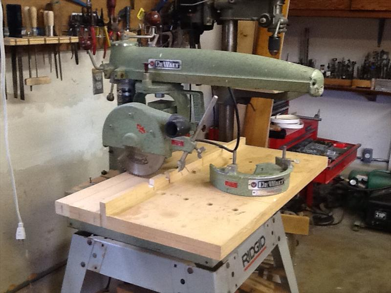 Dewalt Mbf Radial Arm Saw Us Portland Oregon