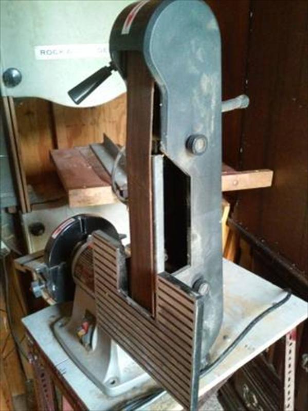 craftsman 2x42 u0026quot  belt sander and 6 u0026quot  disc sander