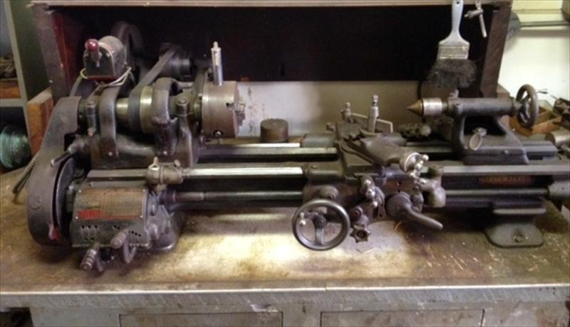 South Bend Bench Top Lathe Us 1 000 00 Paterson New Jersey Vintagemachinery Org