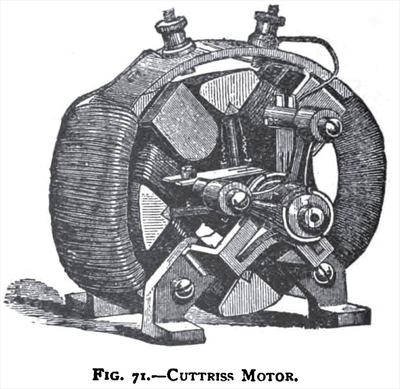 Cuttriss co history for History of the electric motor