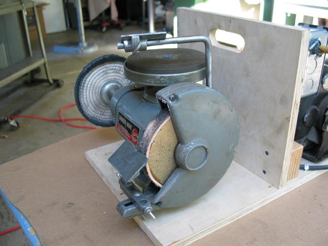 Photo Index Atlas Press Co 2410 Utility Grinder Hone