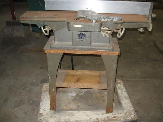"Photo Index - Walker-Turner Co., Inc. - 6"" jointer 