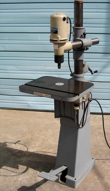 Photo Index Rockwell Manufacturing Co Overarm Router