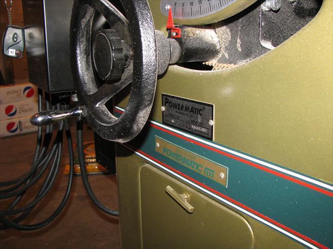 Photo Index - Powermatic Machine Co  - Model 66