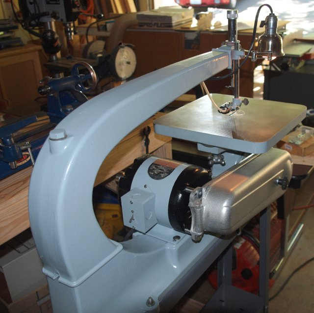 Photo Index Delta Manufacturing Co Scroll Saw Model