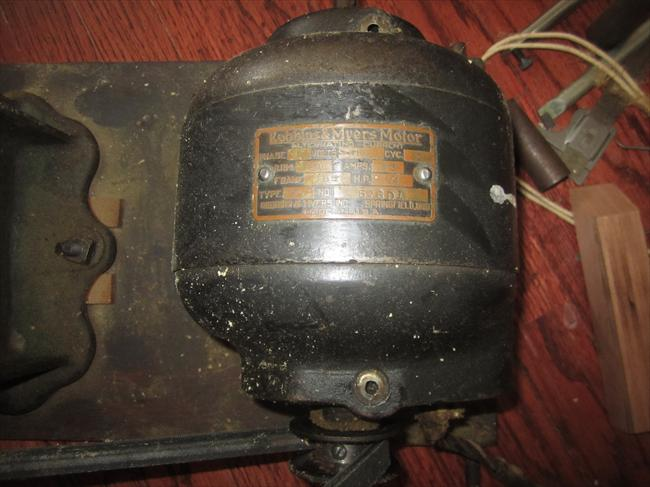 Photo index robbins myers inc 1 4 hp motor single for Robbins and myers replacement motors