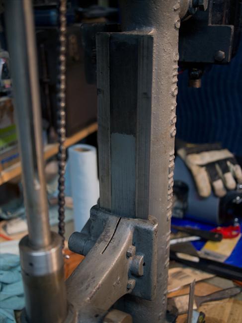 "Drill Press Guard >> Photo Index - Canedy-Otto Manufacturing Co. - 10"" Precision Drill Press | VintageMachinery.org"