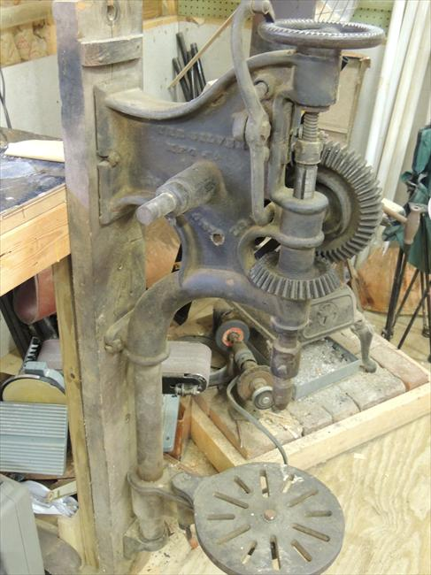 Photo Index Silver Manufacturing Co Drill Press Advance No 13 Vintagemachinery Org