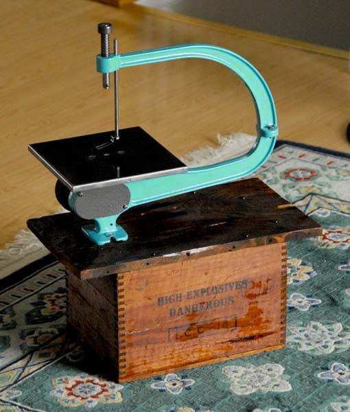 Antique Scroll Saw: Searjeant Metal Products, Inc.