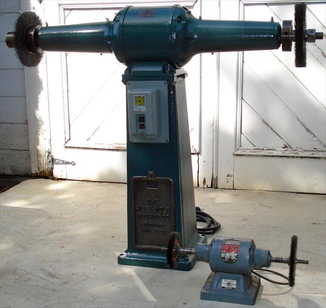 Photo Index Hisey Wolf Machine Co 2 Hp Pedestal