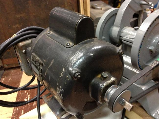 Photo index howell electric motors co red band for Electric motor for bandsaw