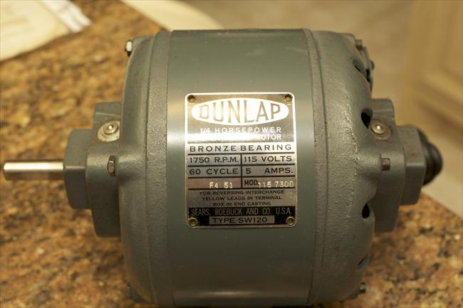 Photo index sears dunlap for Us electric motor serial number lookup