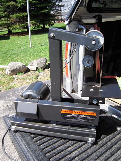 Photo Index Sears Craftsman 113 22570 1 Quot X 42 Quot Sander