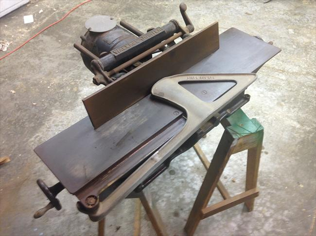 Photo Index J D Wallace Co 6 Inch Bench Top Jointer