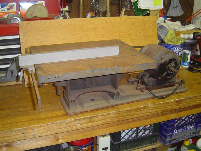 Photo Index Unknown Manufacturer Tilt Top Table Saw