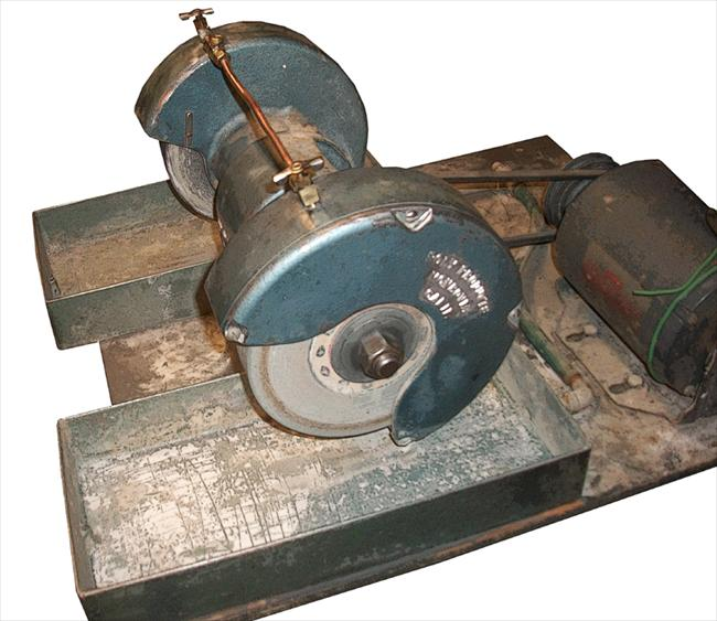 Photo Index Poly Products Grinder Lapidary Water Fed