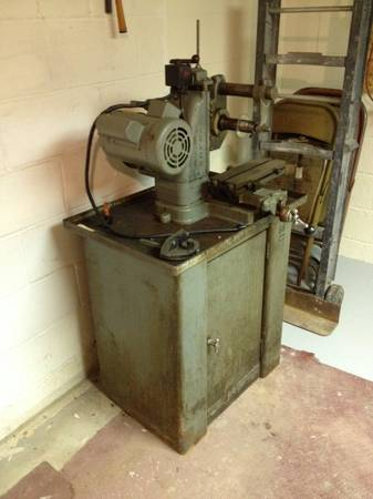 Photo Index Barker Milling Machine Co Model Pm