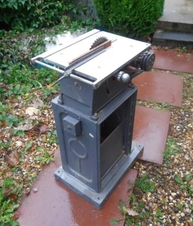 Photo Index Unknown Manufacturer Table Saw