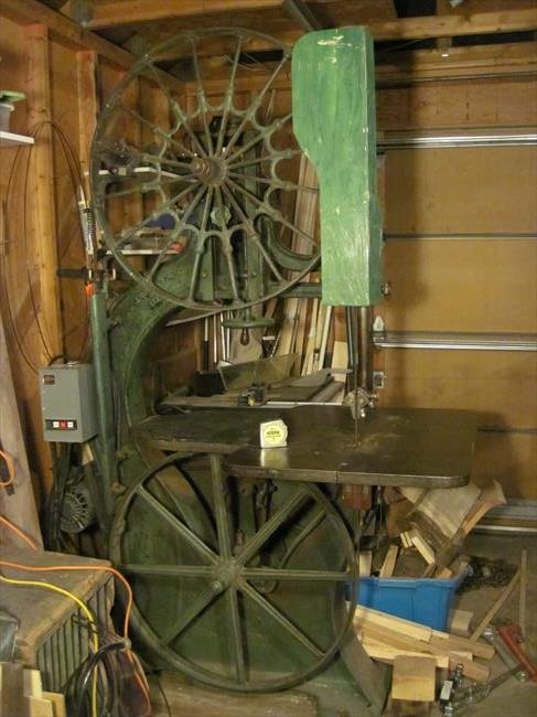 Photo Index J A Fay Co Model 1 Bandsaw