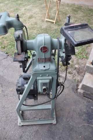 Photo Index Delta Manufacturing Co Bench Grinder