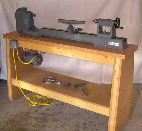 Guide Building Lathe Bench Woody Work
