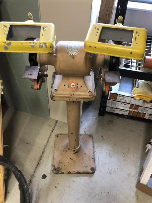 Photo Index Delta Manufacturing Co Bench Grinder With