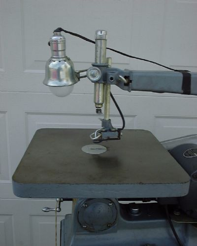 Antique Scroll Saw: Rockwell Manufacturing Co.