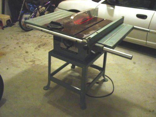 Delta Table Saw Parts Manual 34-457