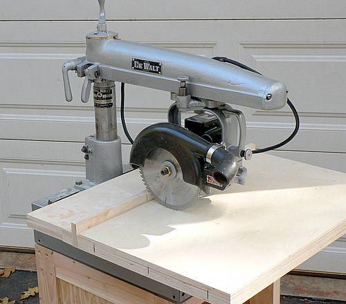 Photo index dewalt products co mb radial saw