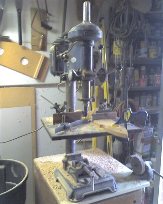 craftsman mortising machine